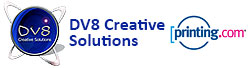 DV8 Creative Solutions Logo