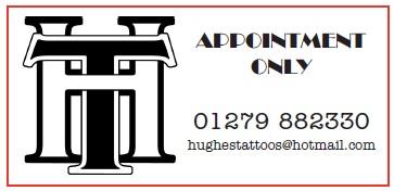 Hughes Tattoos Logo